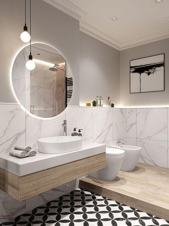 24 Modern White Bathroom Vanity Ideas For Luxury Home Decor .
