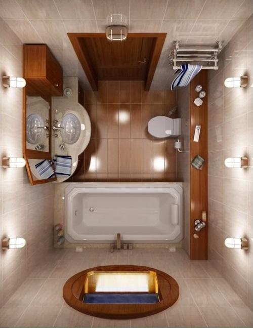 Luxurious Small Bathroom Interior Design