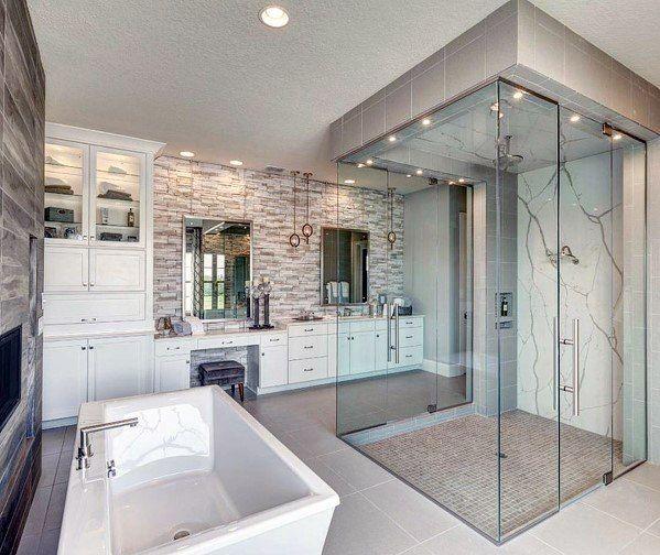 Top 60 Best Master Bathroom Ideas - Home Interior Designs | Luxury .