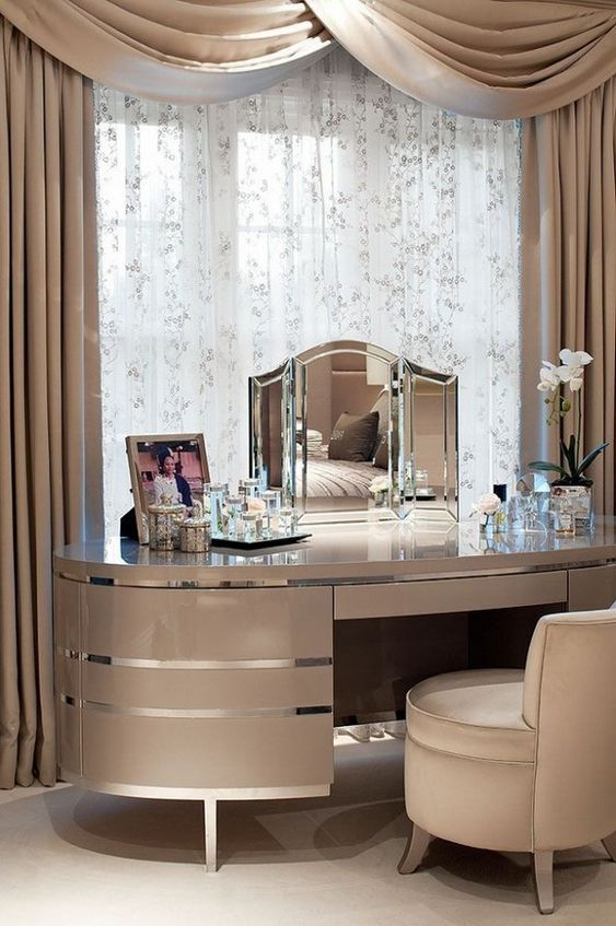 Makeup vanity ideas | Luxury bedroom decor, Luxury decor .