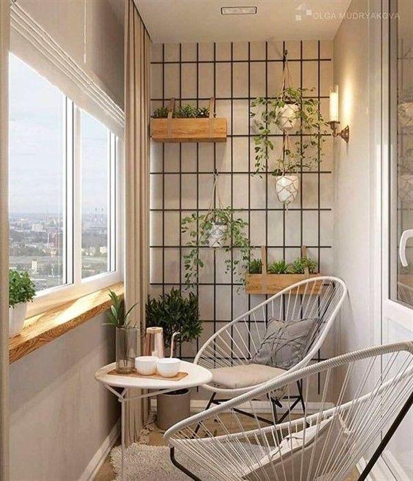 Acapulco Chairs for Minimalist Balcony Decoration - Balcony .