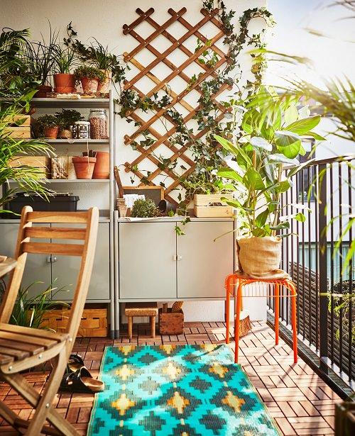 16 Scandinavian Balcony Garden Designs+How to Make