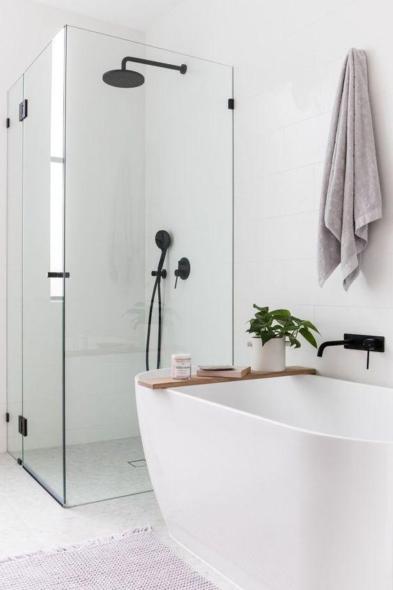 28 Minimalist Small Bathroom Ideas On A Budget - VimDec