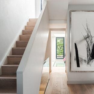 Modern Minimalist Staircase Ideas & Photos   Hou