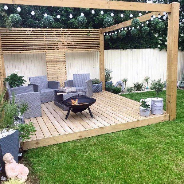 Modern Deck Patio Ideas For Backyard   Design And Decoration Ideas