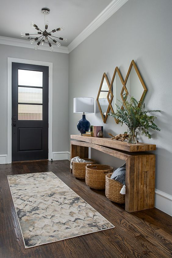 48 Awesome Modern Farmhouse Entryway Decorating Ideas - Page 35 of .