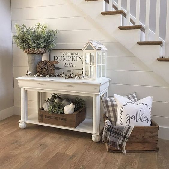 48 Awesome Modern Farmhouse Entryway Decorating Ideas - Page 30 of .