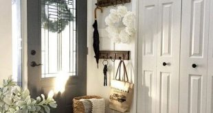 48 Awesome Modern Farmhouse Entryway Decorating Ideas - Page 42 of .