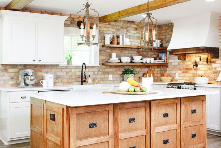 20 Modern Farmhouse Kitchen Ideas for Your Next Re
