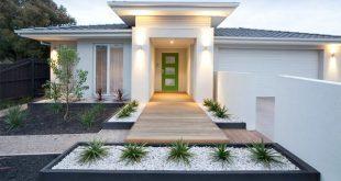 15 Modern Front Yard Landscape Ideas | Home Design Lover | Modern .