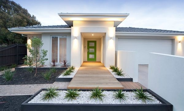 landscaping small front yards - Google Search | Modern front yard .