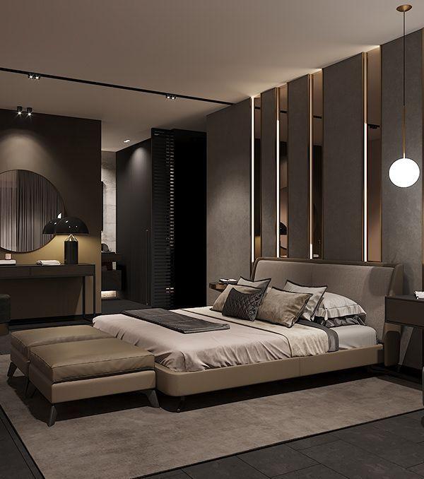 Modern Luxurious Bedroom Ideas Decoration