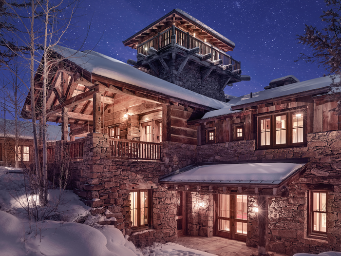 Look Inside the Most Expensive Home in Montana, a $25M Mountain Hou