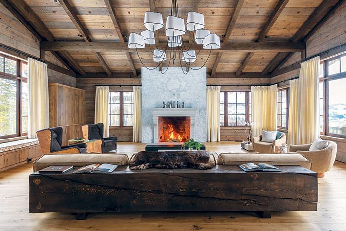 Mountain House Refinishing Design Ideas