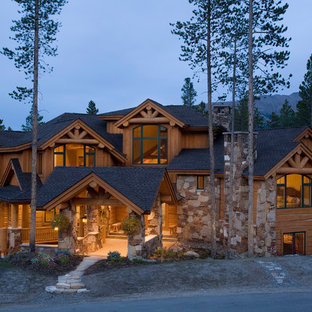 Mountain House Exterior Ideas & Photos   Hou
