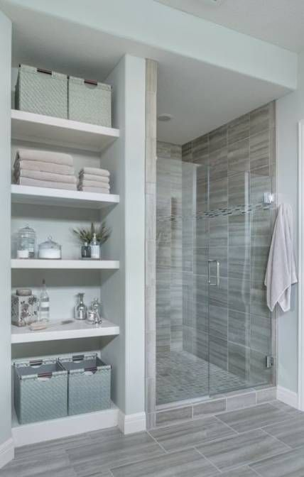 Open closet ideas for small spaces built ins bathroom shelves 29 .