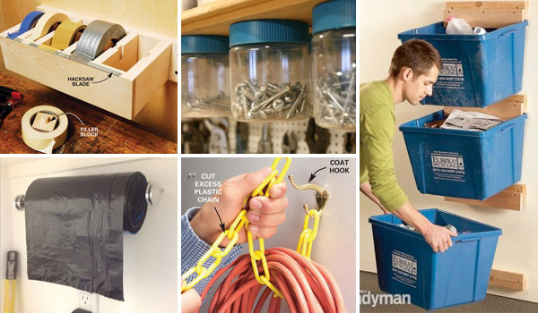 Top 24 Cheap and Easy Garage Organization Ideas - Amazing DIY .