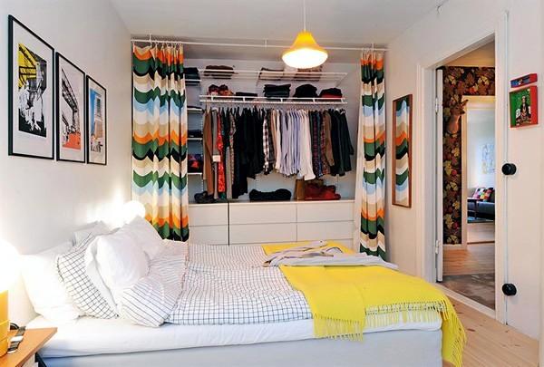 Open Closet with Storage Design Ideas