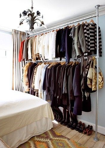 Pin by Geraldine Chauca Escobar on For the Home | No closet .