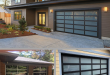 Home style trends for 2019 include glass garage doors... ideal for .