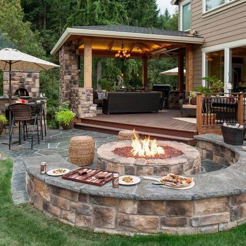 30 Patio Design Ideas for Your Backyard | Worthminer | Deck .