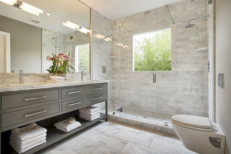 73+ Marvelous Farmhouse Master Bathroom Decor Ideas and Remodel .