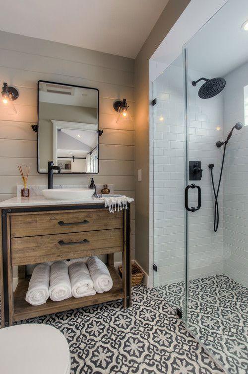 Popular Farmhouse Bathroom Shower Decor   Ideas and Remodel