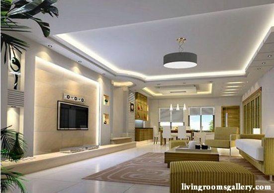 25 Pop False Ceiling Designs with LED Ceiling Lighting Ideas .