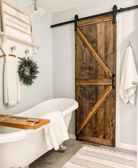 12 Rustic Bathroom Ide