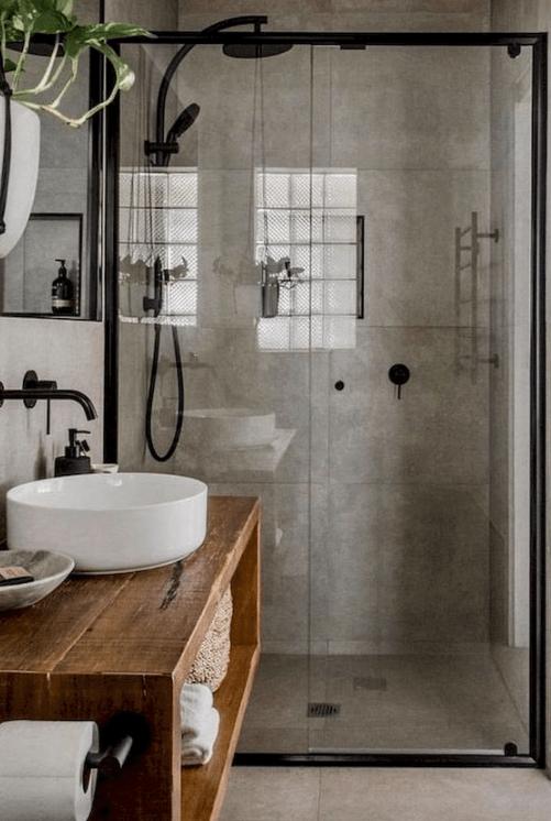 28 Industrial Style Bathrooms Design and Decor Ideas - VivieHome .