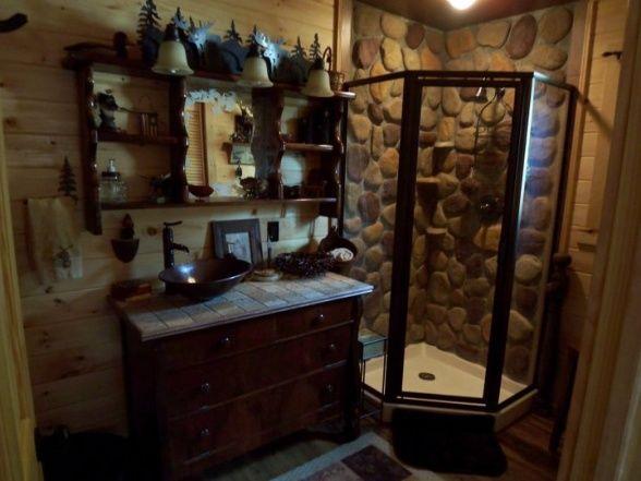 Rustic Cabin Decorating Ideas | DECORATING IDEAS | Rustic cabin .
