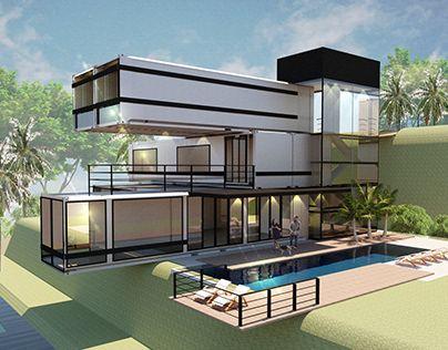 Container House | Container house design, Container house .