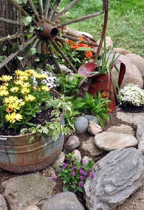 43 simple and easy diy garden art design ideas 31 | homezide