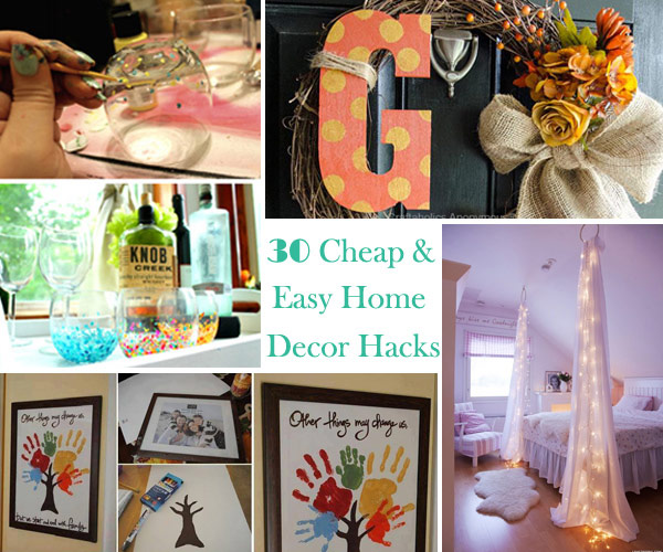 30 Cheap and Easy Home Decor Hacks Are Borderline Genius - Amazing .