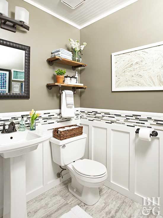 Budget-Friendly Tips for Renovating a Powder Room   Half bathroom .
