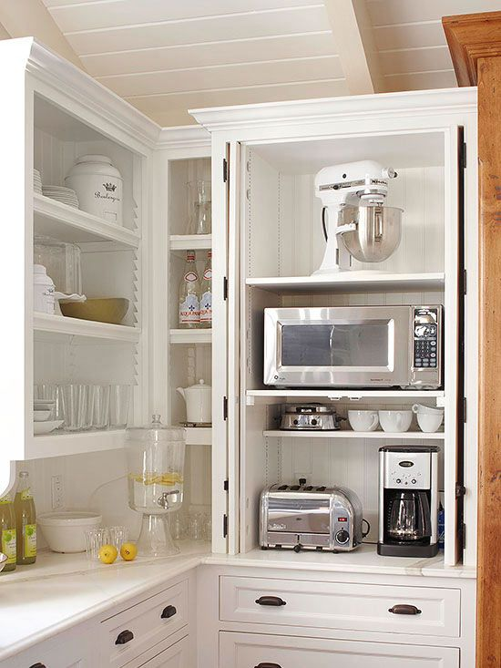 Storage-Packed Cabinets and Drawers | Kitchen design, Clever .