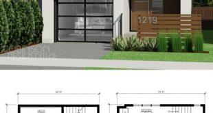 Contemporary Nicholas-718 - Robinson Plans | House designs .