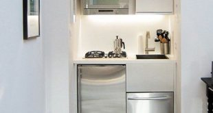 Smart Takeaways from 10 Truly Tiny Kitchens | Kitchen design small .
