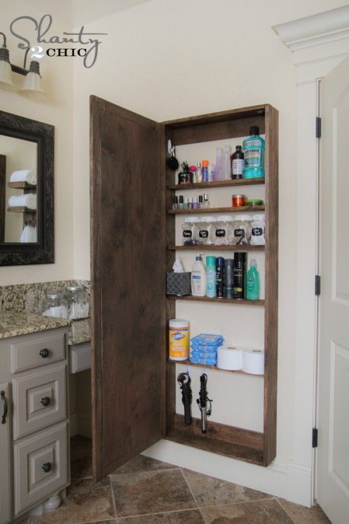 24 Small Bathroom Storage Ideas - Wall Storage Solutions and .