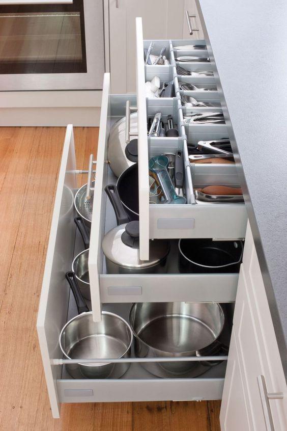 Check latest small kitchen organization ideas space saving tiny .