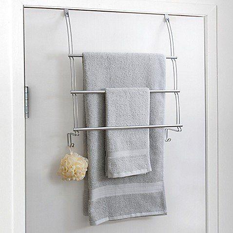 Store plenty of towels while taking advantage of unused bathroom .