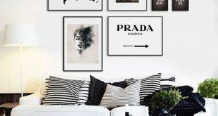 Living room decor (Black and white aesthetic)#interiordesign#decor .