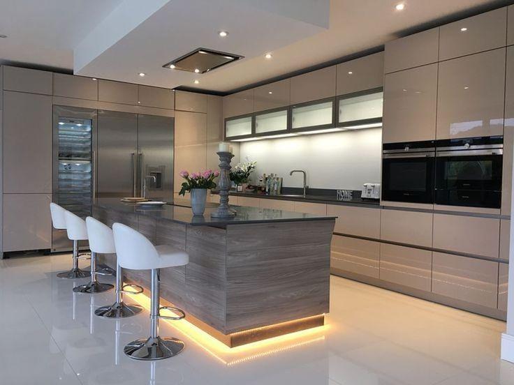 50 Stunning Modern Kitchen Design Ideas | Modern kitchen design .