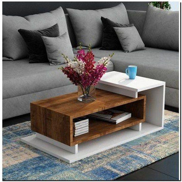 40+ stunning wooden metal coffee table 20 » AERO.DREAMS | Tea .