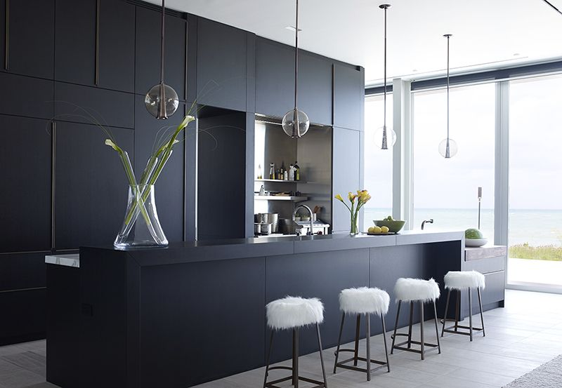 Stylish Black Kitchen Cabinets for Your   Black Kitchen Design Ideas