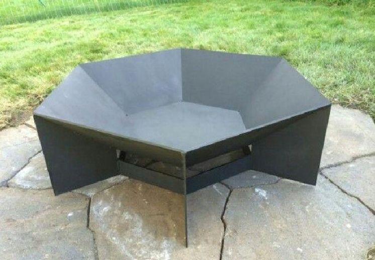 Stylish DIY Metal Fire Pit Ideas