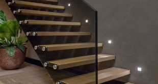 Floating Staircase Floating Stairs   Demax Arch   Home stairs .