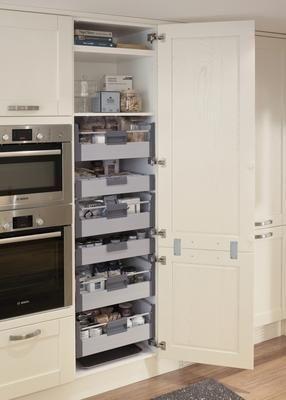 Storage heaven! Tewkesbury White Kitchen Range   Kitchen Families .
