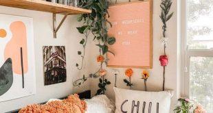 decoração #quarto #lindo #guirlandasupenção | Dorm room decor .