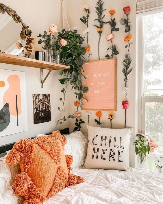 Sweetest Dorm Room Decorating Ideas for Teenage Girls